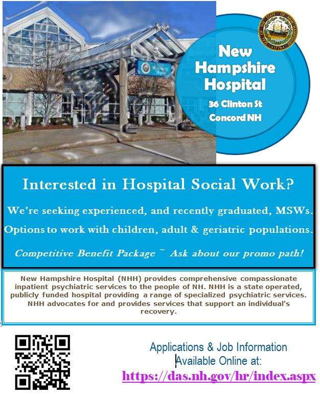 Various / New Hampshire Hospital | College of Social Work