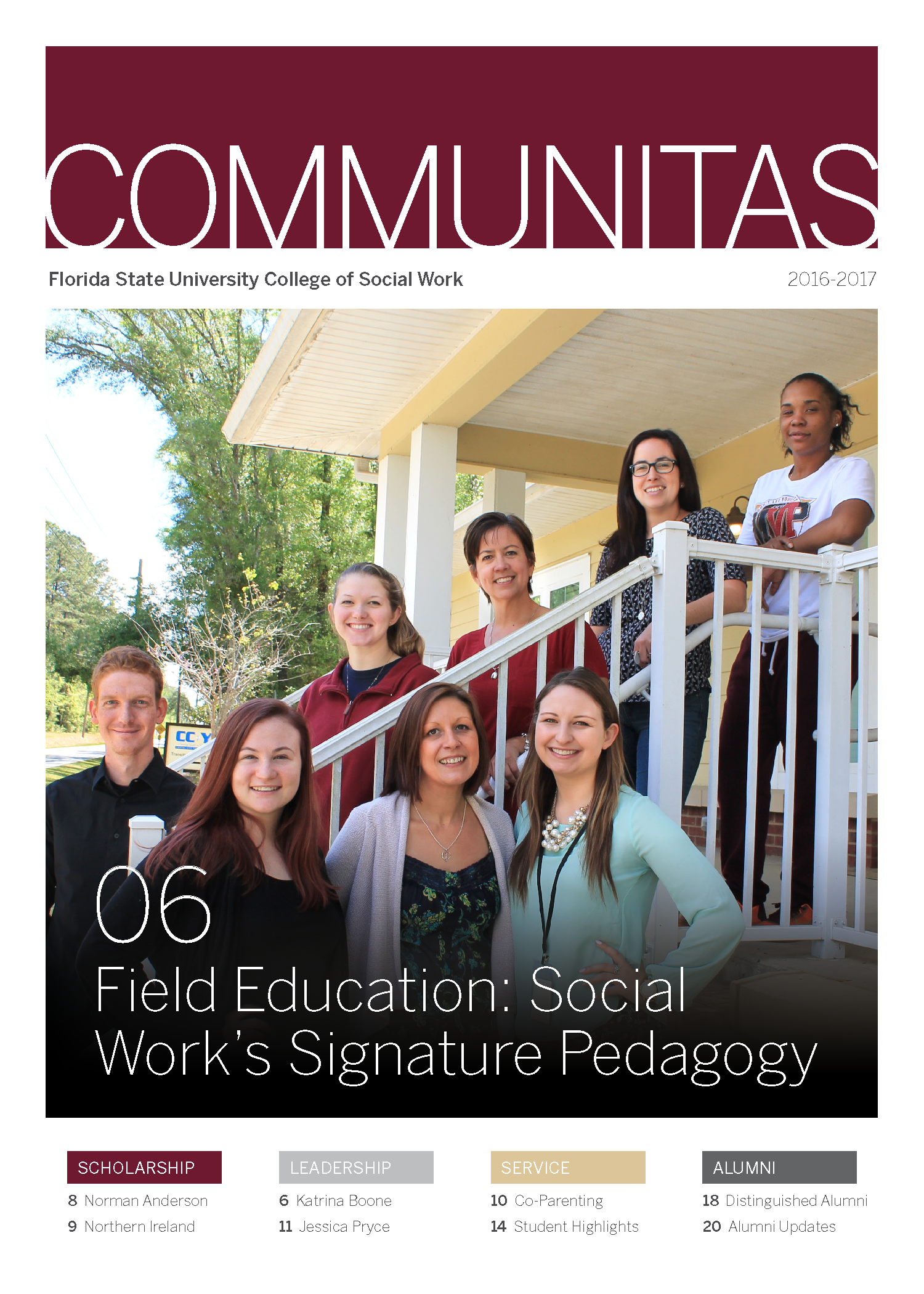 Communitas Magazine Cover Photo 2017