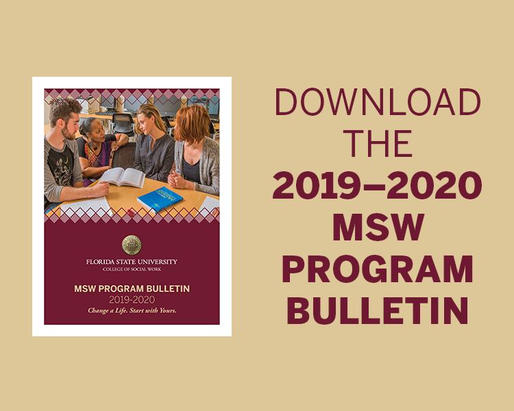 Fsu Calendar Fall 2020 MSW Overview | College of Social Work