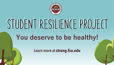 Student Resilience Project You Deserve to Be Healthy Slide
