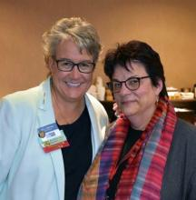 Dr. Kia Bentley and Dr. Joanne Yaffe