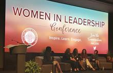 Women in Leadership Conference Main Panel