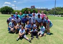 Arts & Athletics Program 2019 campers and counselors