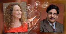 Dr. Carrie Pettus-Davis and Dr. Sudhir Aggarwal