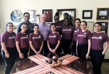 President Thrasher and the Resilient Noles.